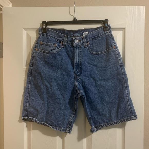 Levis 550 long shorts denim